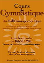 cours gym